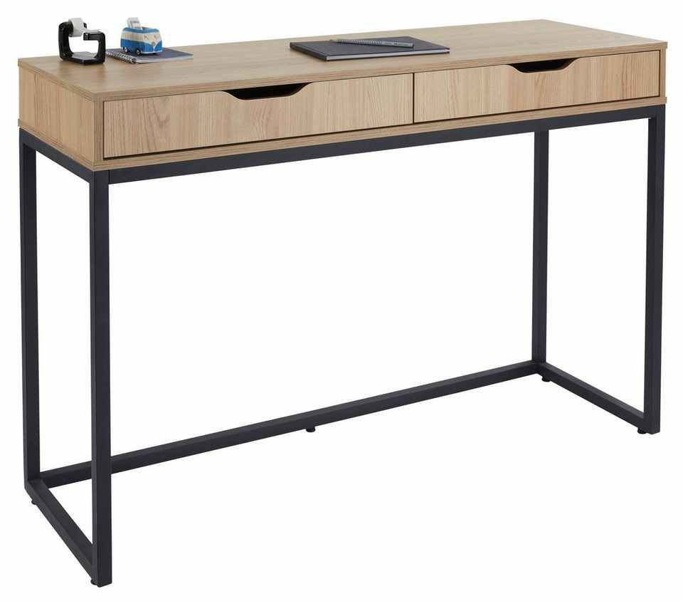 GMK Home U0026 Living Schreibtisch »Dalem« Mit Metallgestell
