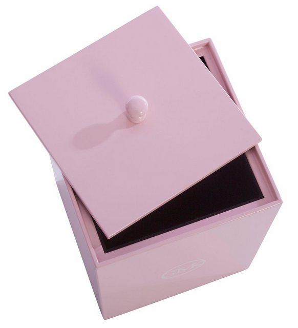 GMK Home & Living Lack-Box Leelo mit Deckel rosa | 00711970996360