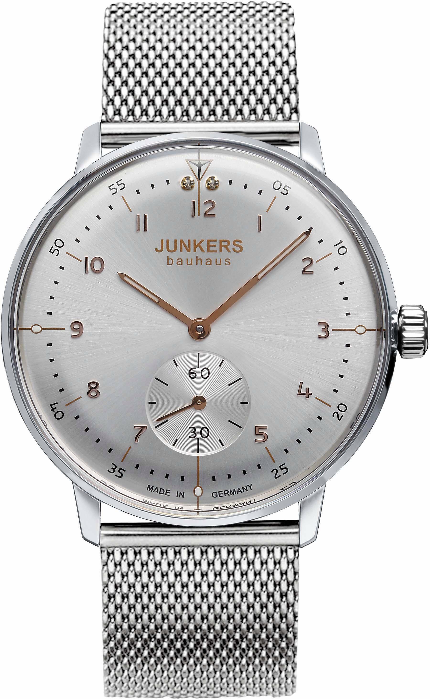 Junkers-Uhren Quarzuhr »Bauhaus, 6035M4« made in Germany