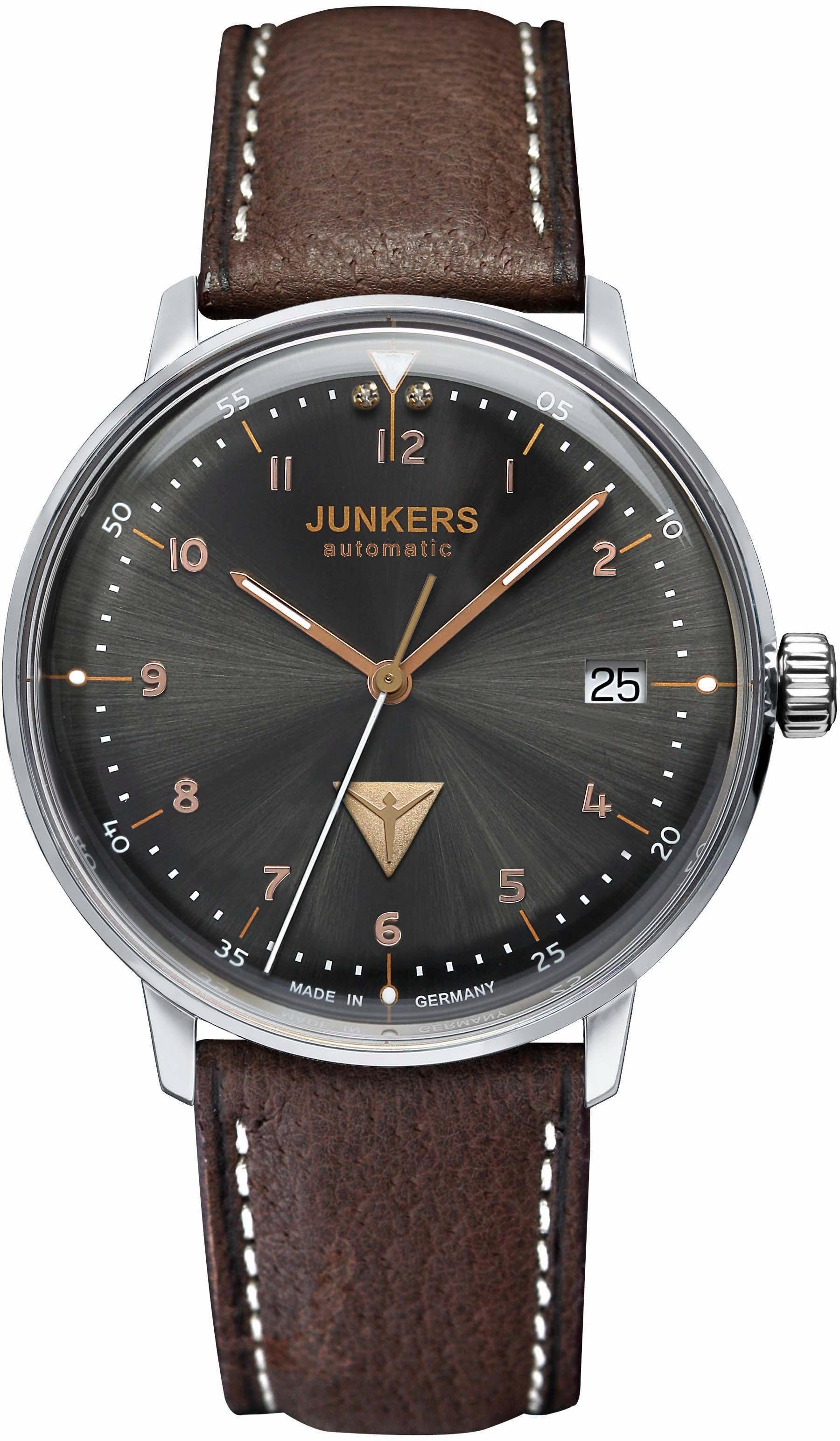 Junkers-Uhren Automatikuhr »Bauhaus, 60672«, made in Germany