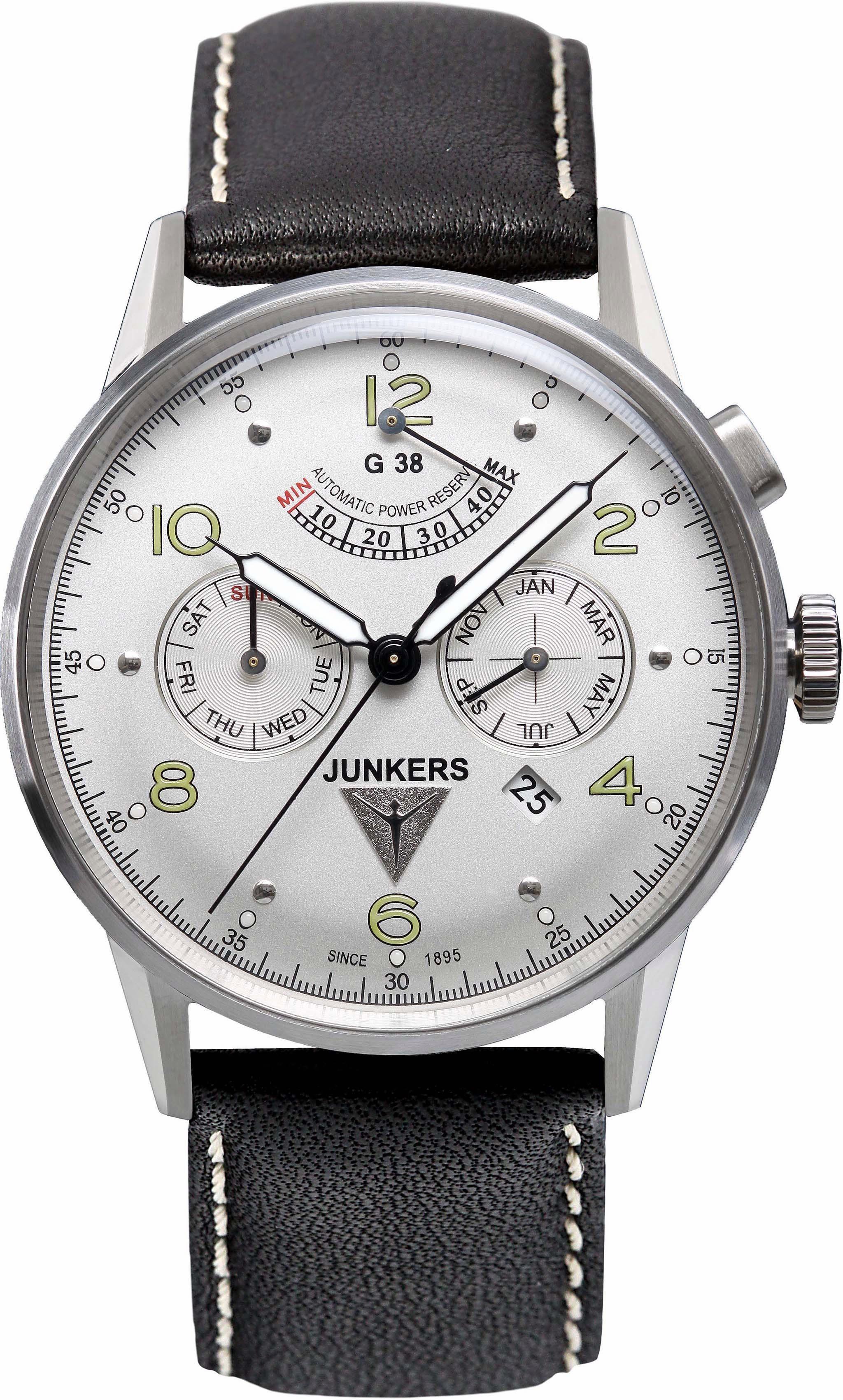 Junkers-Uhren Automatikuhr »G38, 69604«