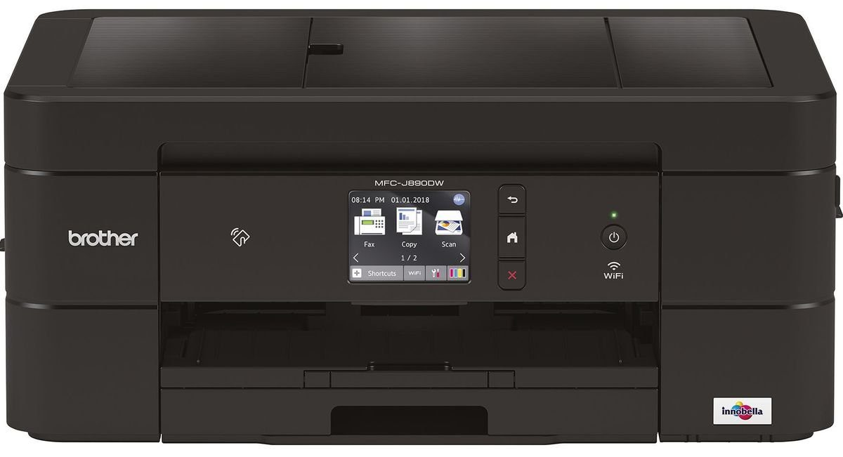 Brother Tintenstrahl-Multifunktionsdrucker »MFC-J890DW 4in1 Multifunktionsdrucker«