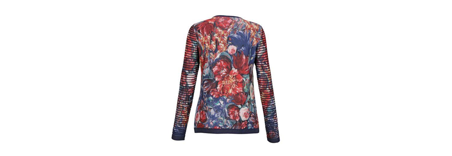 Mona Pullover mit floralem Dessin Nicekicks Größte Anbieter Verkauf Online Billig Verkauf Online Neue Stile Verkauf Online aOZFZN89