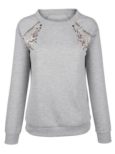 Amy Vermont Sweatshirt With Decoration