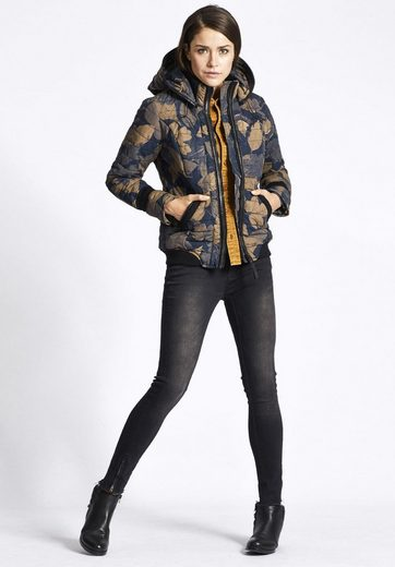 Khujo Quilted Jacket Morny, With Detachable Hood