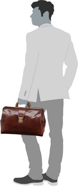 THE BRIDGE Handtasche »Story Uomo Arzttasche«   Taschen > Business Taschen > Arzttaschen   Braun   THE BRIDGE