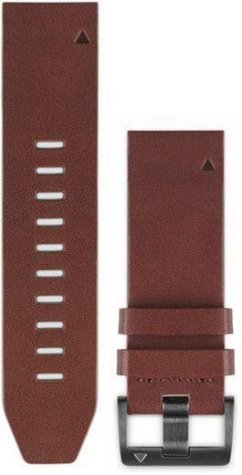 Garmin Ersatz-/Wechselarmband »Ersatzarmband QuickFit Leder 22 mm«