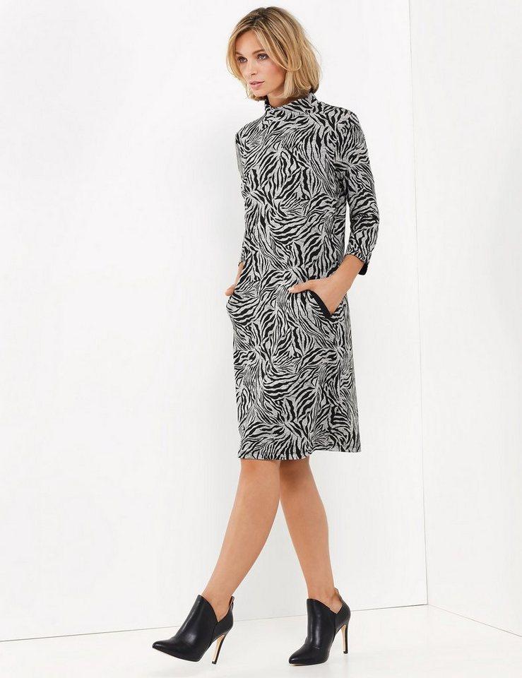 gerry weber kleid gewirke »kleid mit animalmuster« | otto
