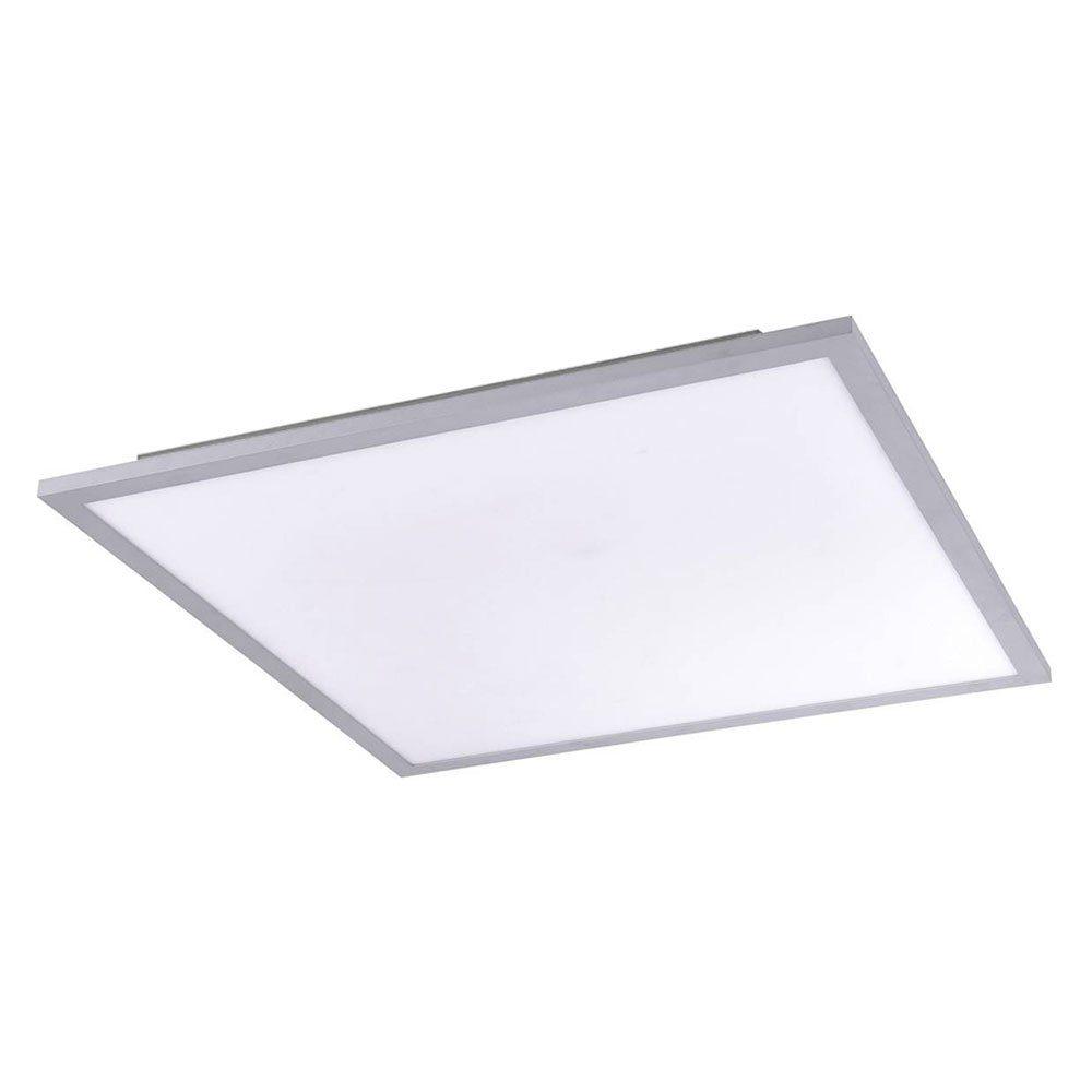 Licht-Trend Deckenleuchte »Q-Flat 62 x 62cm LED 3000K Silber«