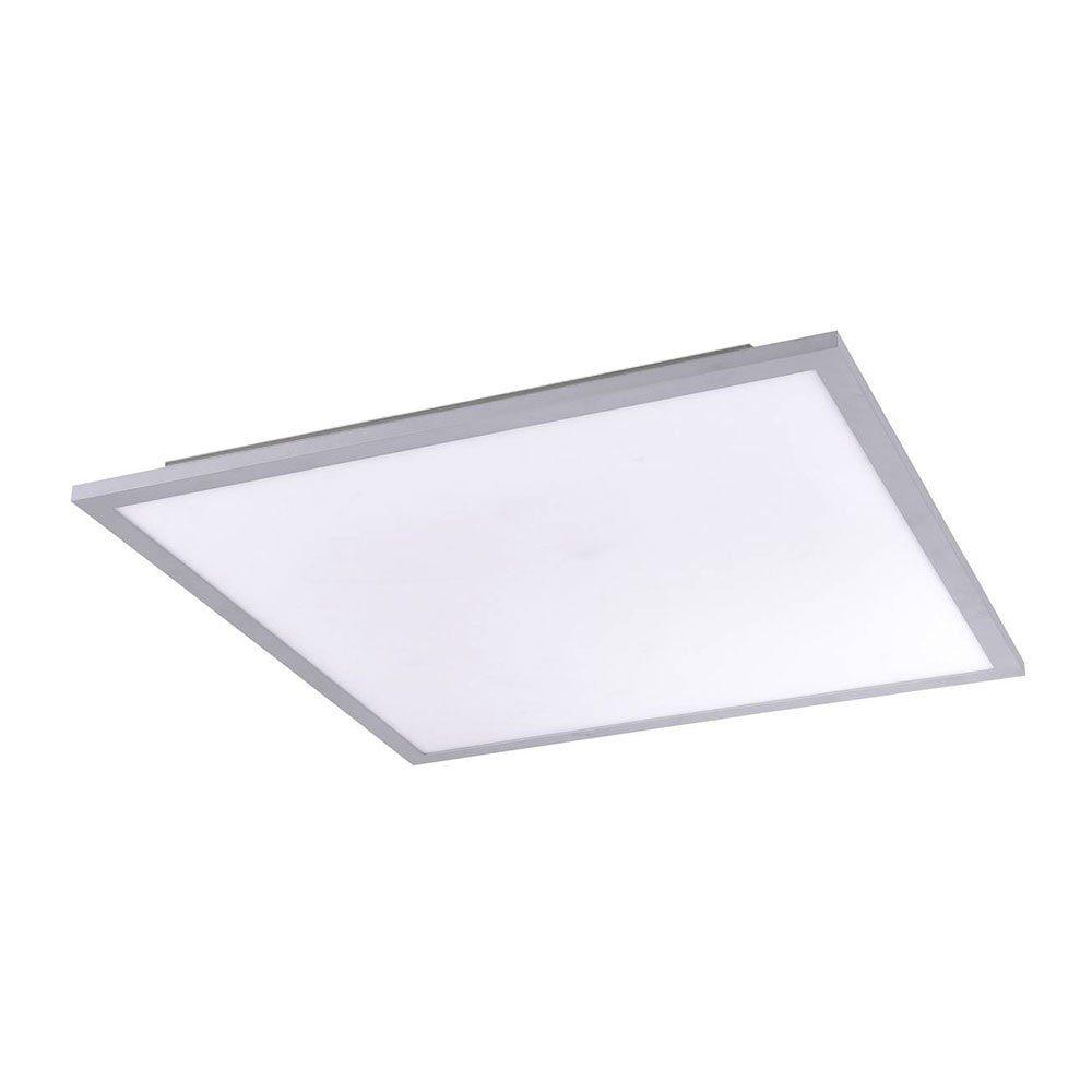 Licht-Trend Deckenleuchte »Q-Flat 45 x 45cm LED 3000K Silber«