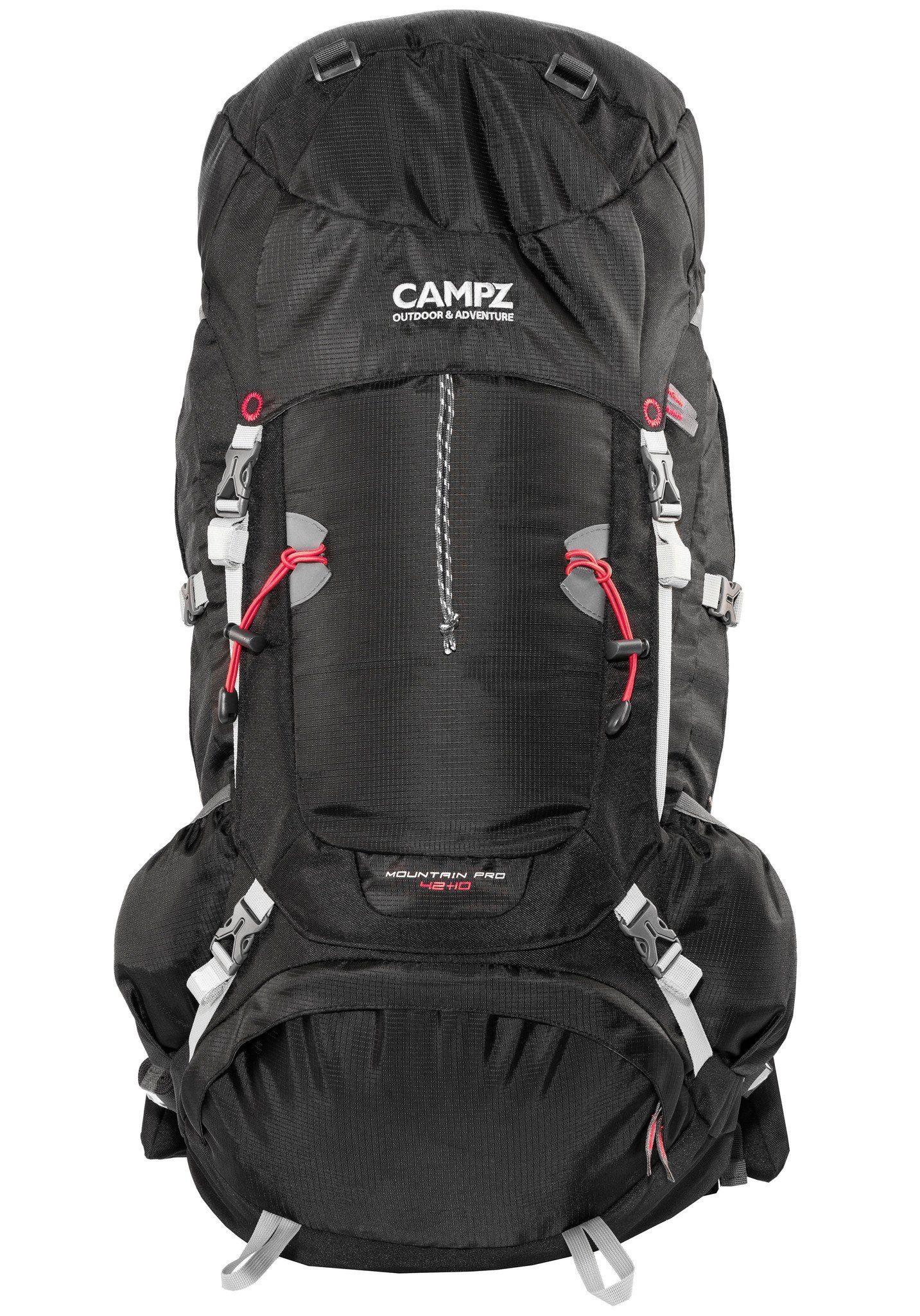 CAMPZ Wanderrucksack »Mountain Pro 42+10L Rucksack«