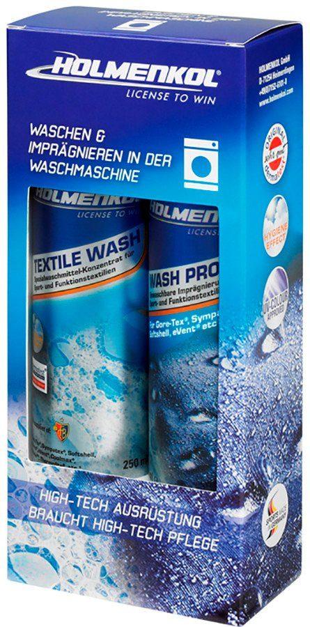 Holmenkol Reinigungsmittel »Textile Wash & Wash Proof Pflegemittel-Set 2x250ml«