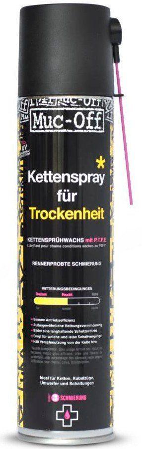 Muc-Off Fahrrad Reiniger »Dry PTFE Chain >Lube Aerosol 400 ml«