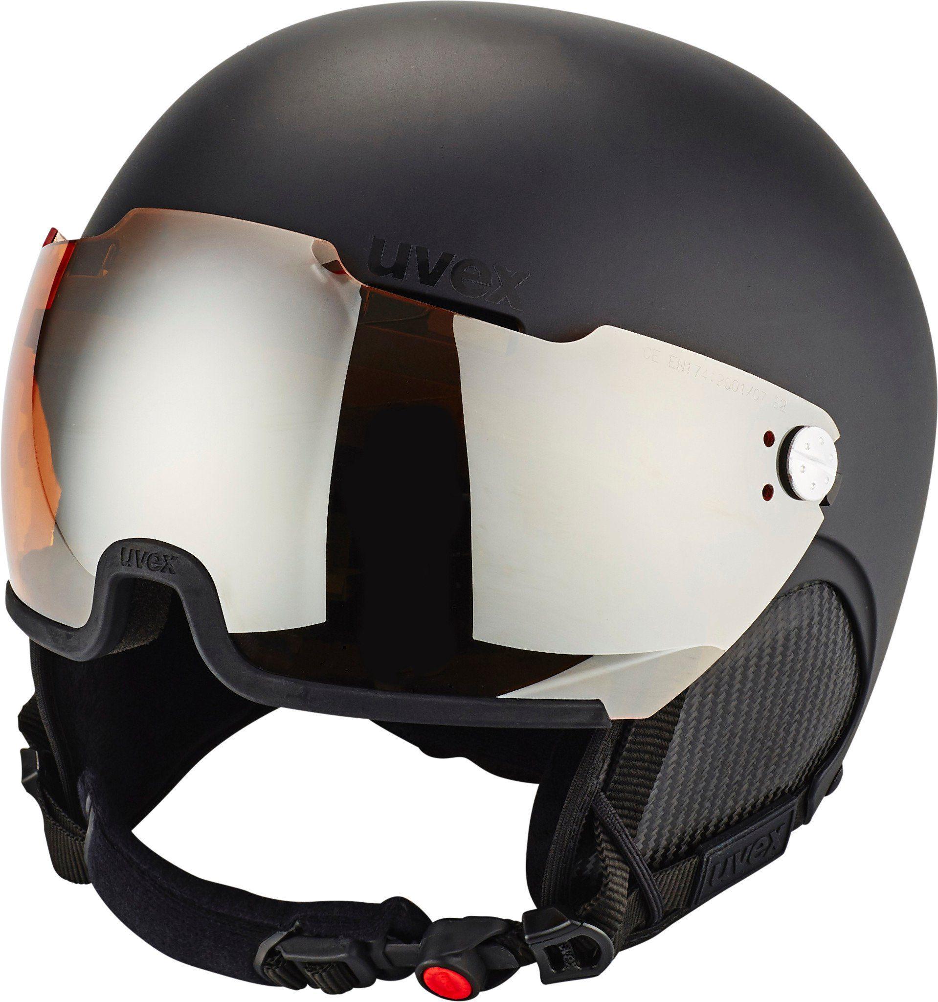 Uvex Ski - / Snowboardhelm »500 Visor Helmet«