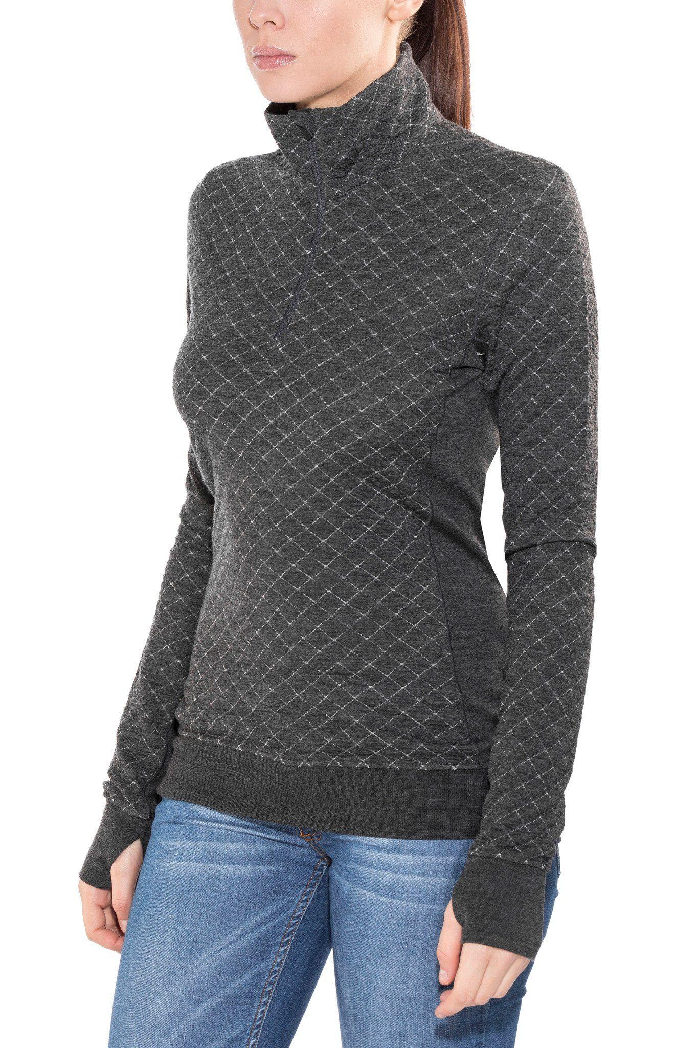 Icebreaker Pullover »Affinity Thermo LS Half Zip Midlayer Women«