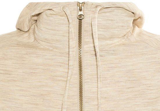 Icebreaker Pullover Dia LS Zip Hood Women