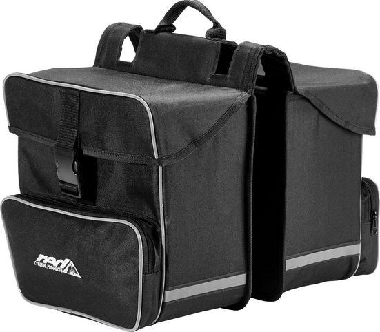 Red Cycling Products Gepäckträgertasche »Premium Double Bag Gepäckträgertasche«