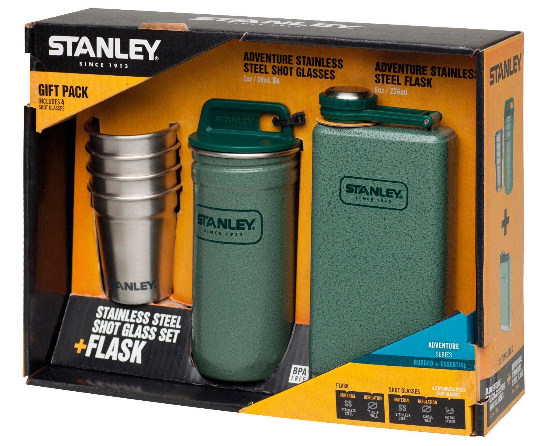Stanley Trinkflasche »Adventure Steel Spirits Gift-Set«