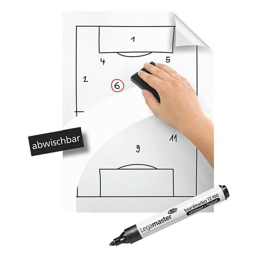 LEGAMASTER Whiteboardfolie 7-159100 »Magic Chart«