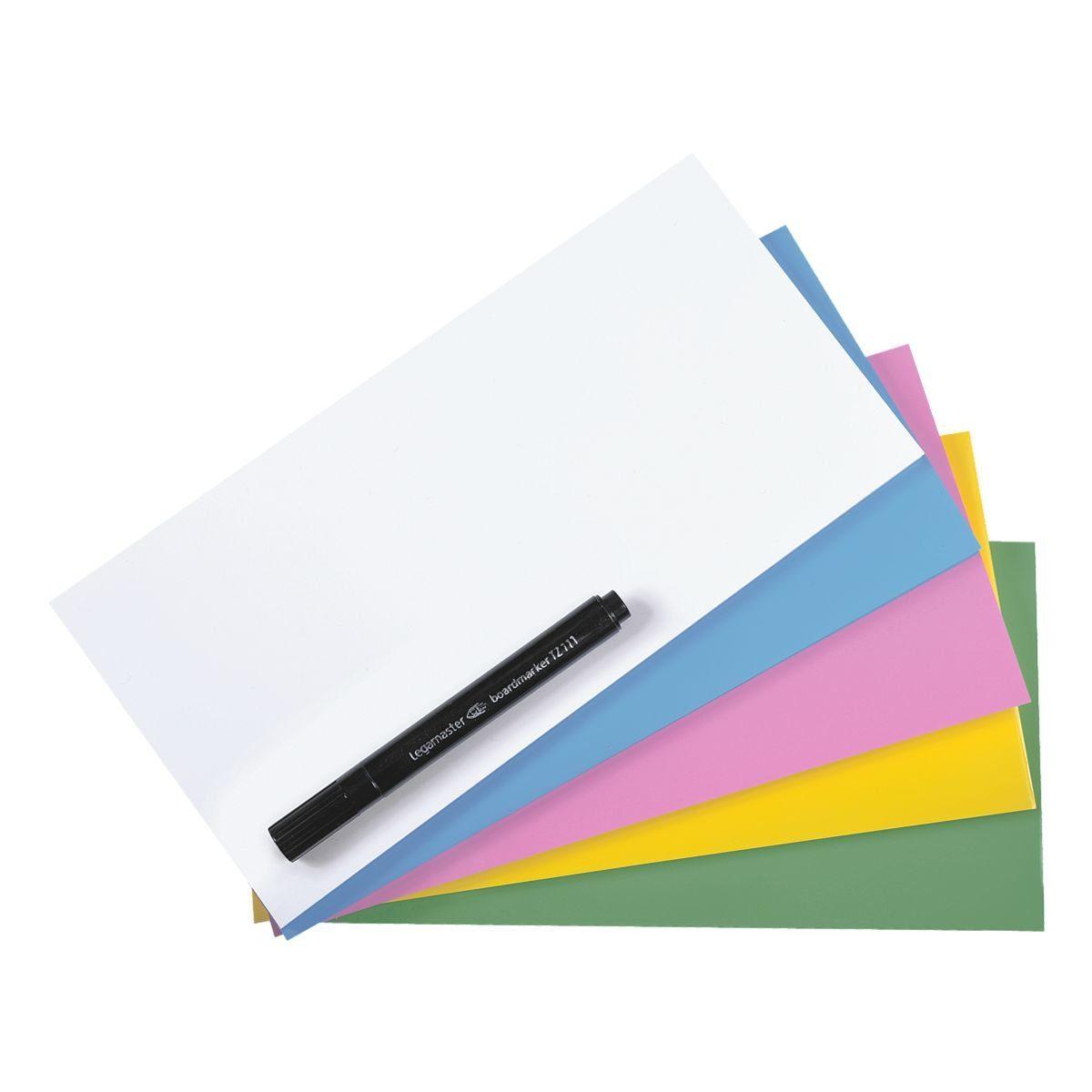 LEGAMASTER Elektrostatische Haftnotizen 7-159499 - 20x10 cm »Magic Chart Notes«