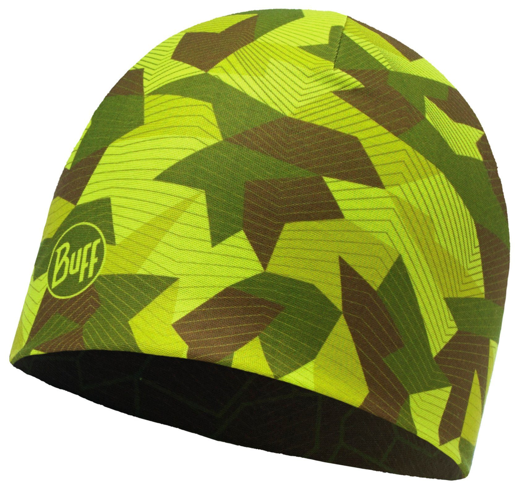 Buff Hut »Microfiber Revers. Block Hat«