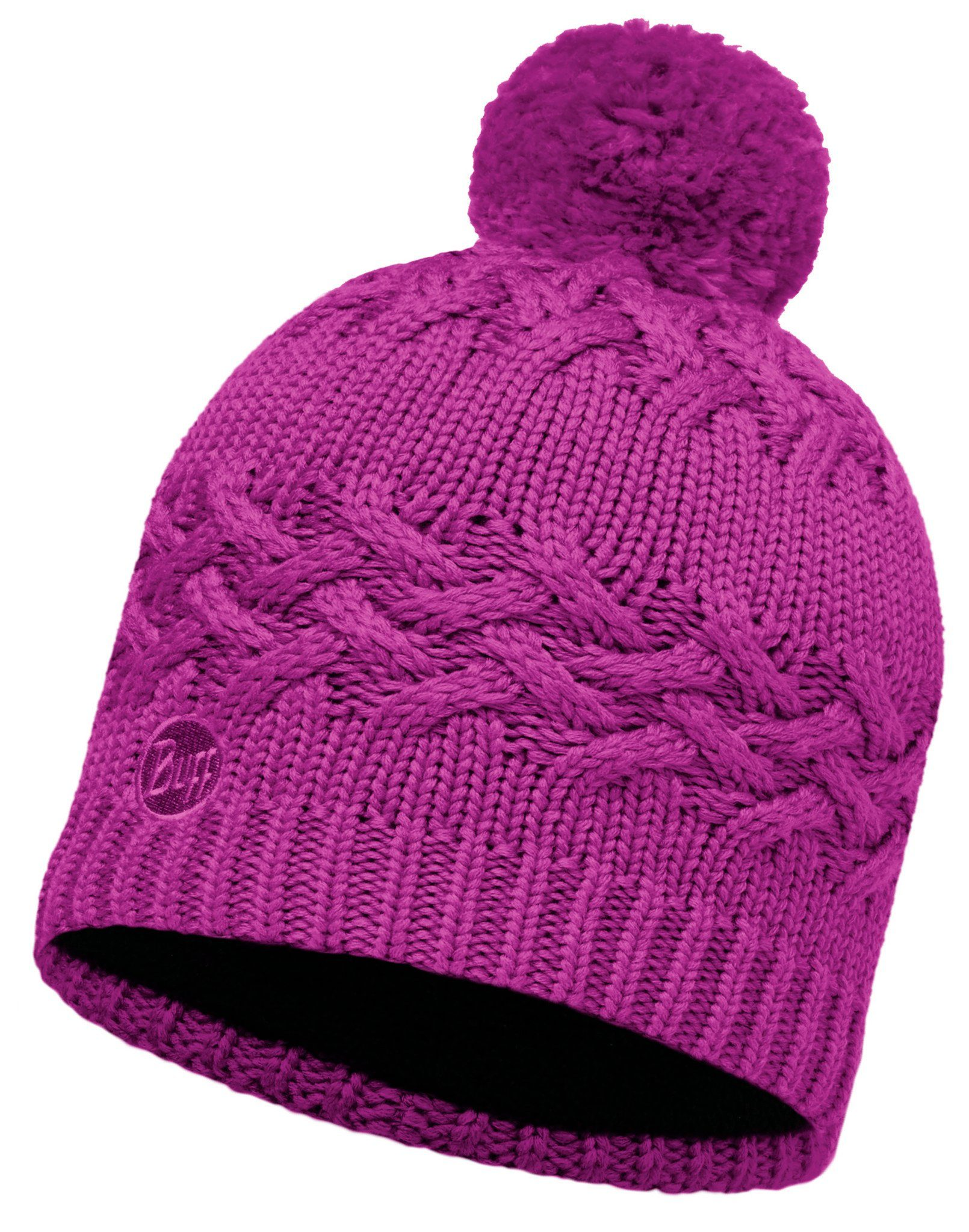 Buff Hut »Knitted & Polar Fleece Hat«
