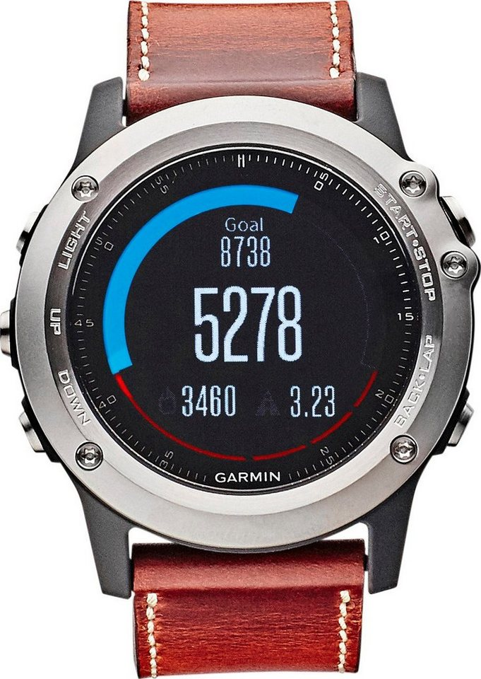garmin sportuhr fenix 3 saphir gps multisportuhr. Black Bedroom Furniture Sets. Home Design Ideas