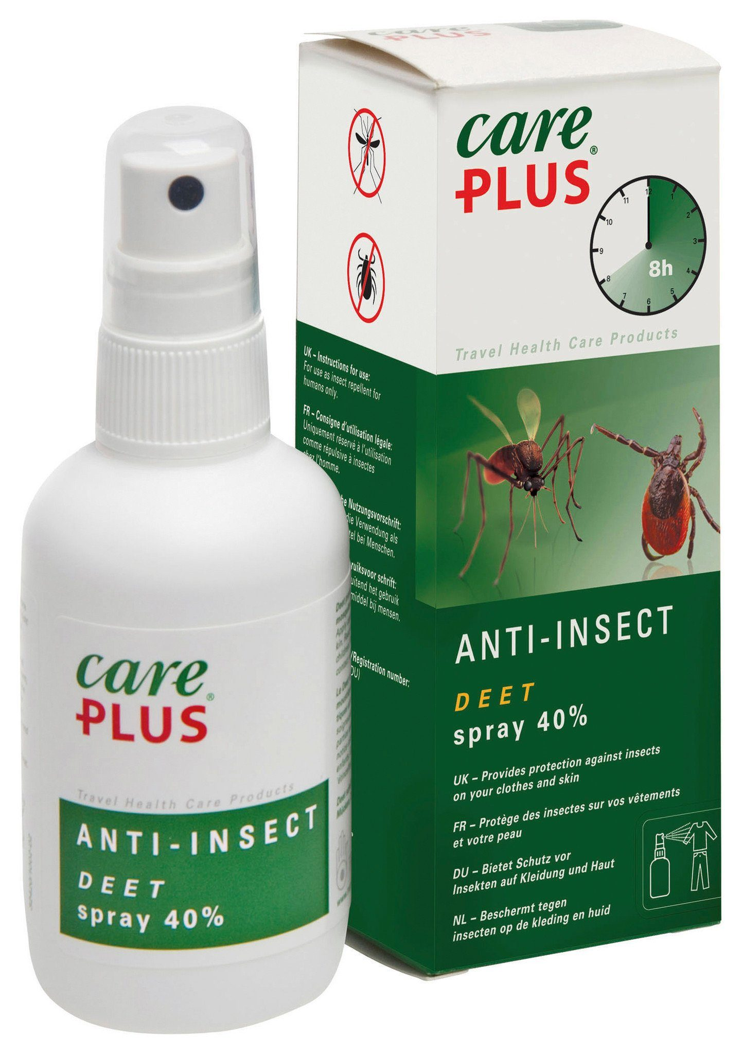 CarePlus Reinigungsmittel »Anti-Insect Deet Spray 40% 100ml«
