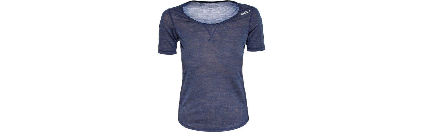 Odlo T-Shirt Revolution TW Light Crew Neck SS Shirt Women Billig Verkauf Zuverlässig S5BpvjbU