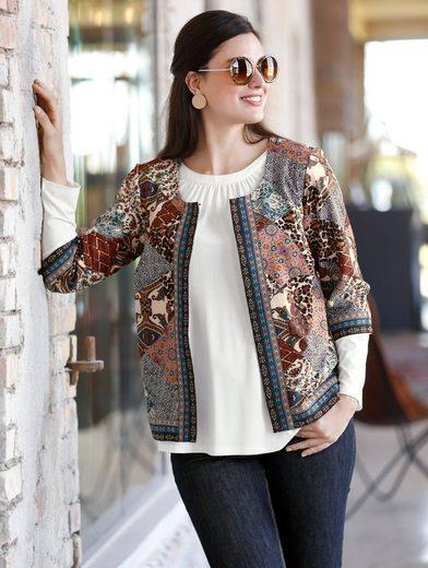 Sara Lindholm By Happy Size Kurz-blazer