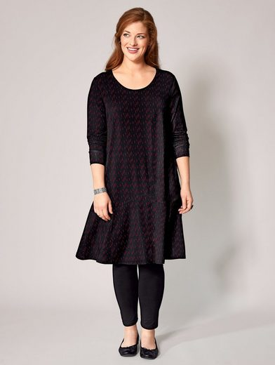 Sara Lindholm By Happy Size Jersey-kleid