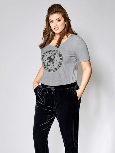 Angel of Style by Happy Size Shirt mit Frontprint