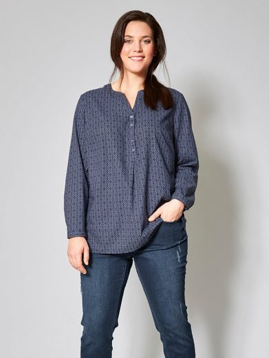 Janet And Joyce By Happy Size Tunic Striped