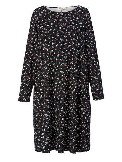 Janet und Joyce by Happy Size Jersey-Kleid mit Blumen-Print
