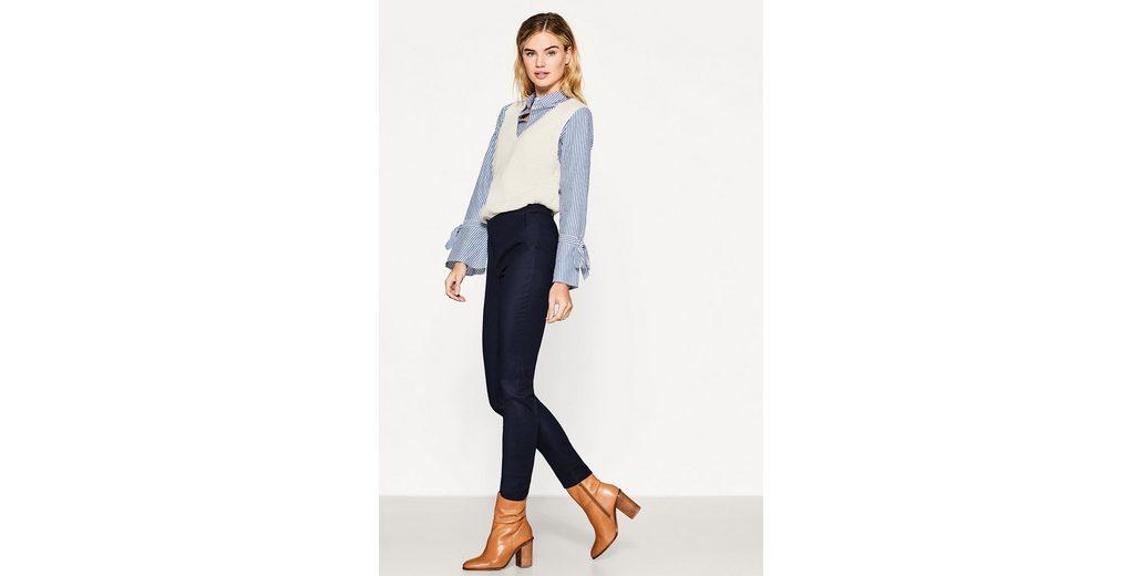 ESPRIT COLLECTION Smarte Stretch-Hose mit Wappenknöpfen Billig Verkauf Perfekt Großer Verkauf Zum Verkauf PZ8j2SW5n4