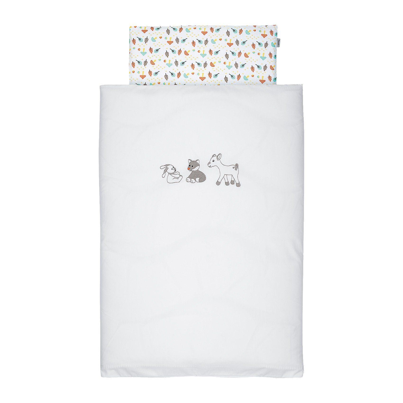 Sterntaler Baby-Bettwäsche Waldis, 80 x 80 cm | Kinderzimmer > Textilien für Kinder > Kinderbettwäsche | Baumwolle | Sterntaler®