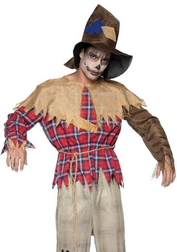24costumes Kostüm »Sinister Scarecrow - Groesse: M/L - Farbe: Multicolor«