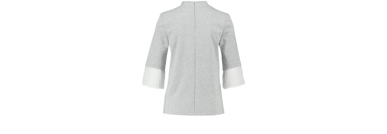 Taifun T-Shirt 3/4 Arm Rundhals Sweatshirt mit Trompetenärmeln Sie Günstig Online Authentisch Verkaufspreise nIqLi7