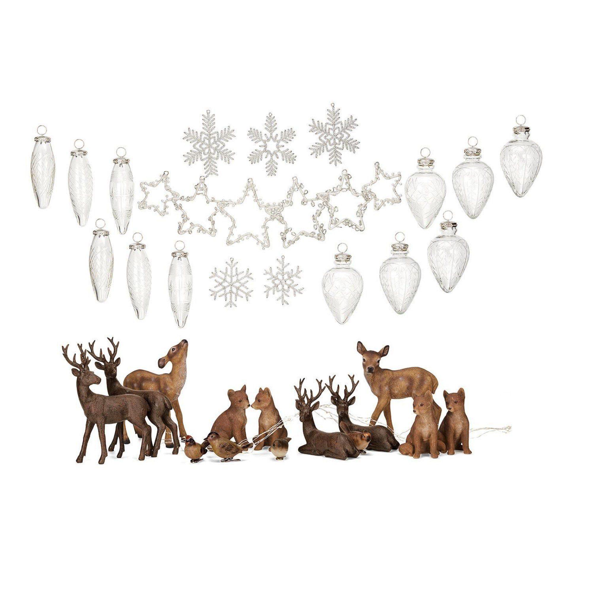 Loberon Weihnachtsschmuck-Set »Rouen«