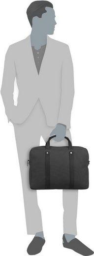 Jost Briefcase Lund 2370 Short Handle Bag 1 Fold