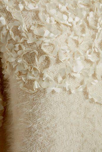 Cream Rundhalspullover Juliette
