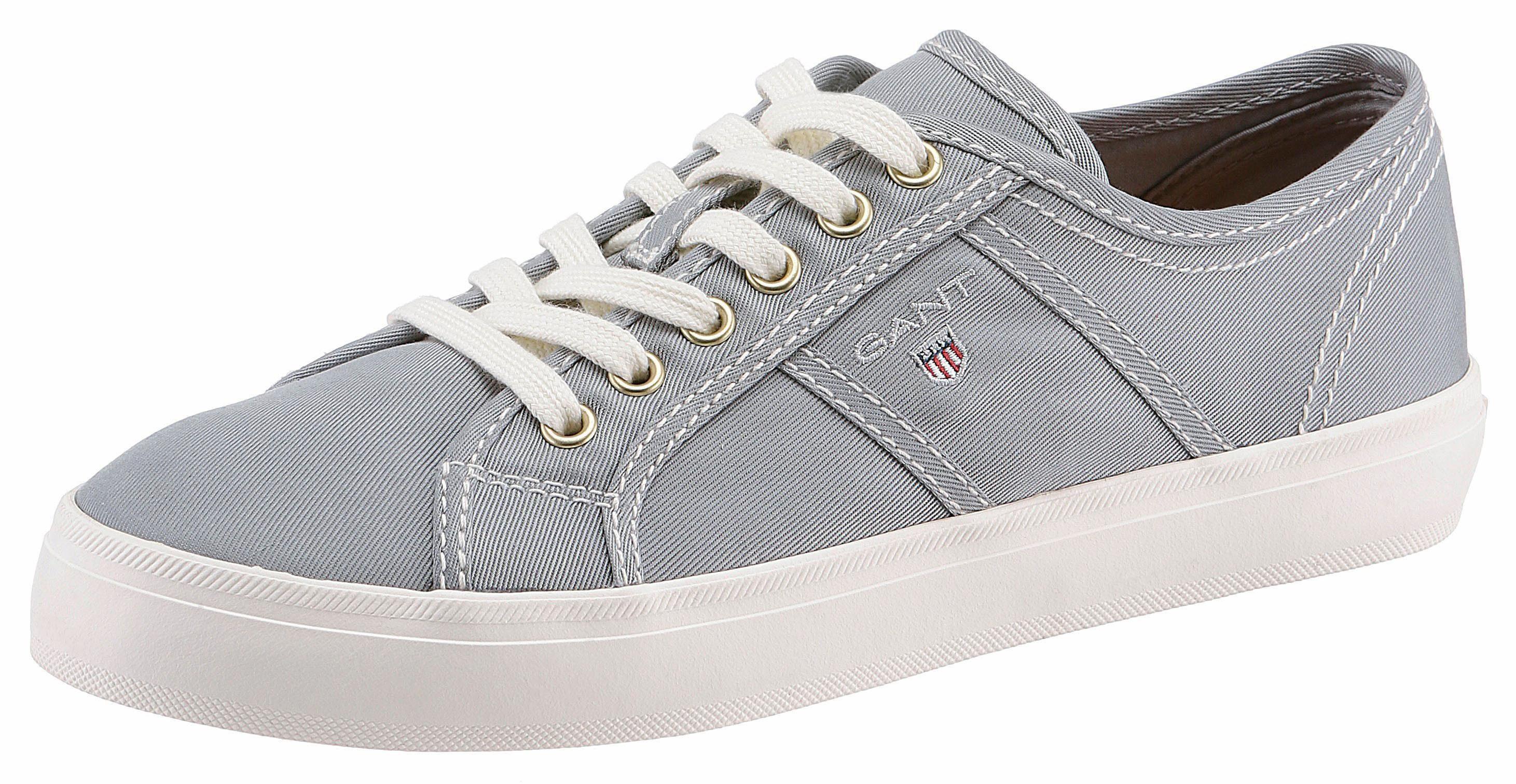Gant Footwear Sneaker, im Materialmix, grau, 36 36
