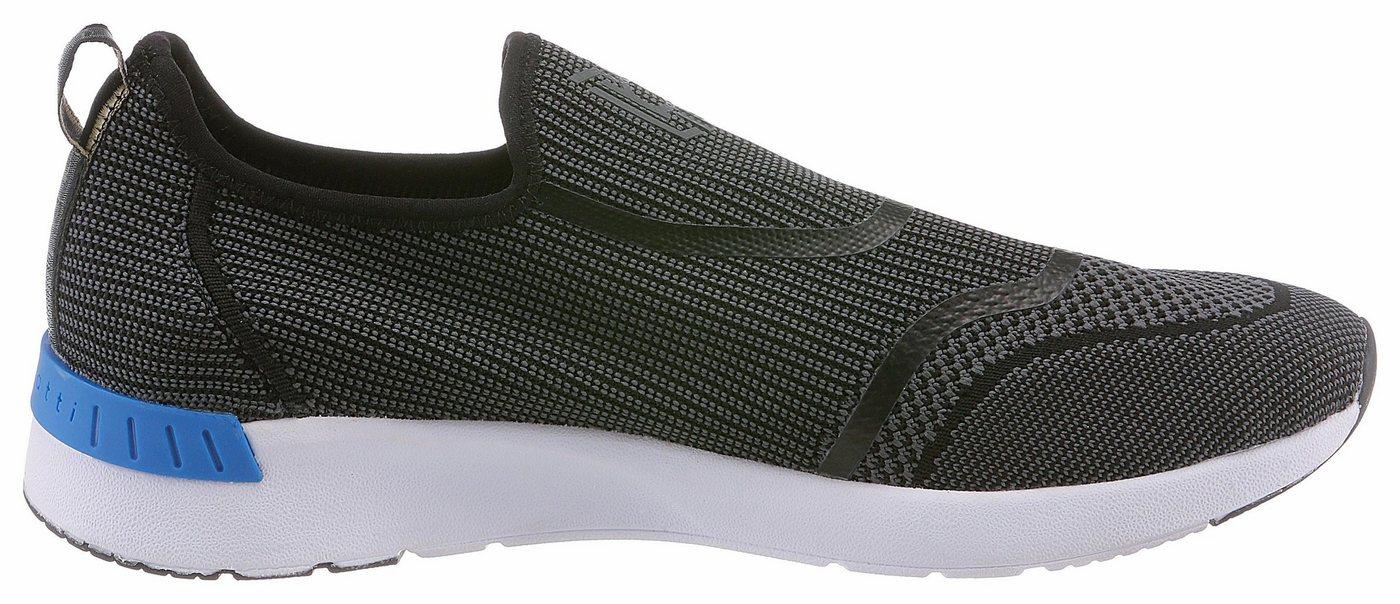Herren Bugatti Slip-On Sneaker zum Schlupfen schwarz   07613146058175