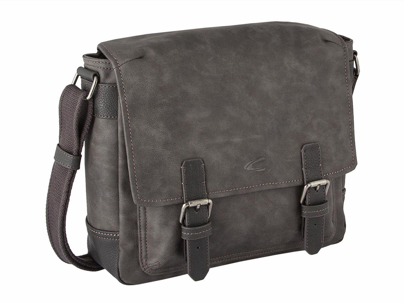 camel active Messenger Bag »CANADA«, mit gepolstertem Tabletfach | Taschen > Business Taschen > Messenger Bags | Grau | camel active