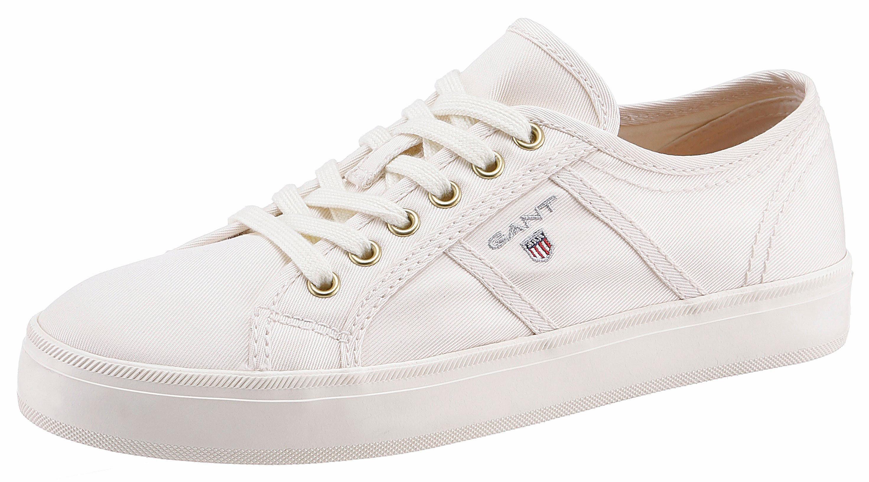 Gant Footwear »ZOE« Plateausneaker, mit Ziernaht, weiß, 41 41
