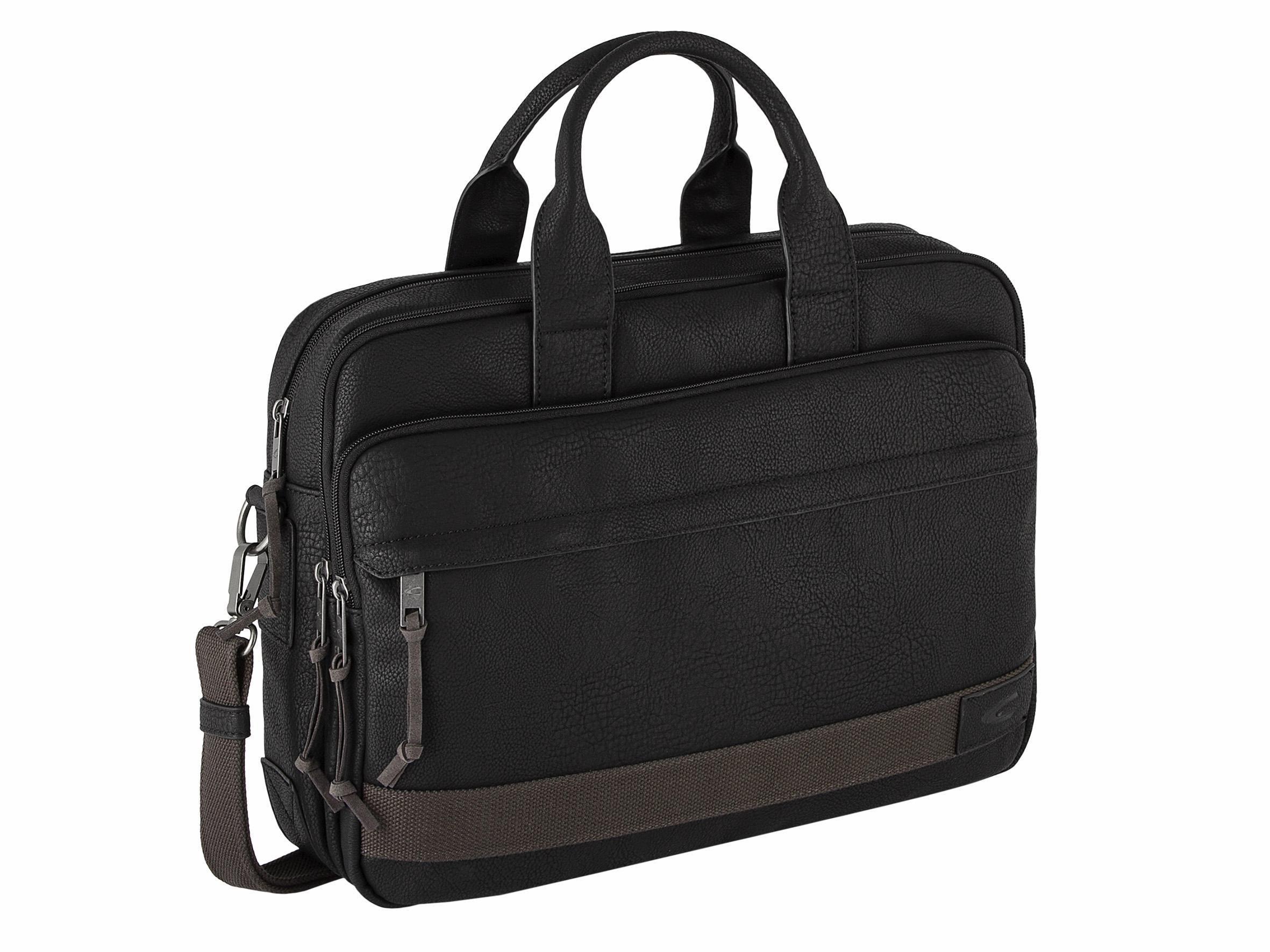 camel active Messenger Bag »KINGSTON«, mit gepolstertem Laptopfach und Trolley Befestigungsschlaufe