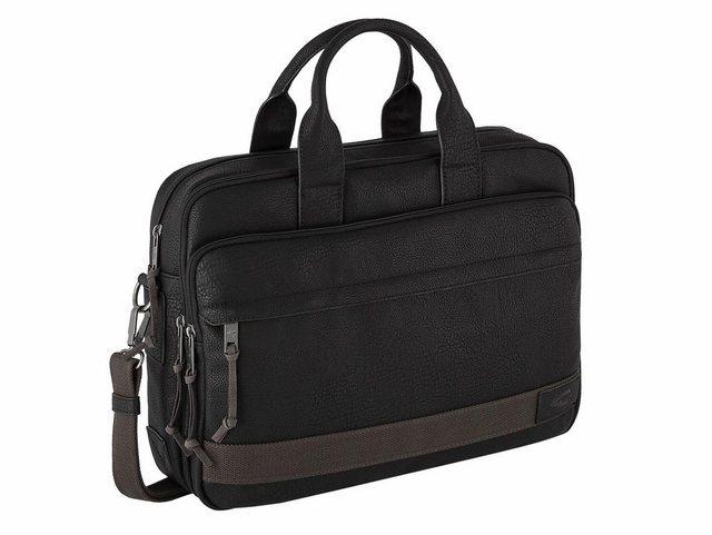 camel active Messenger Bag »KINGSTON«, mit gepolstertem Laptopfach und Trolley-Befestigungsschlaufe | Taschen > Business Taschen > Messenger Bags | Schwarz | camel active