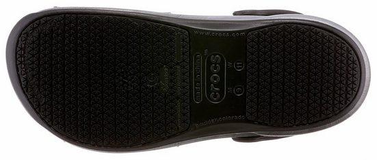 Crocs Bistro Graphic Clog Arbeitsschuh, mit geschlossenem Fersenbereich