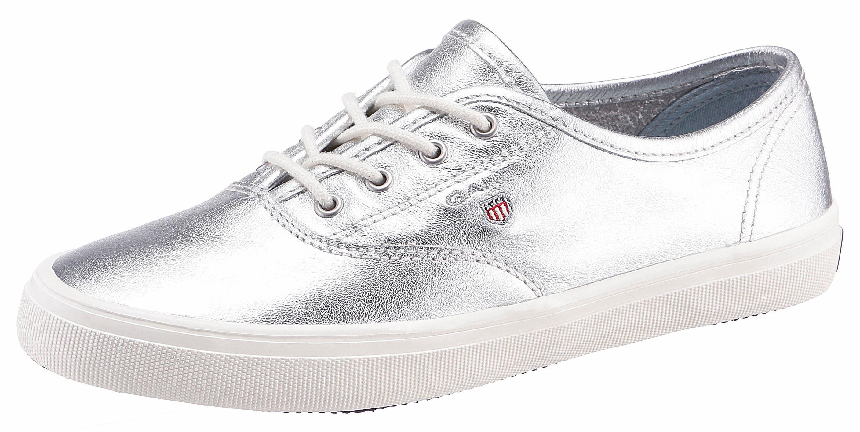 Gant Footwear Sneaker, mit seitlichem Logo kaufen  silberfarben