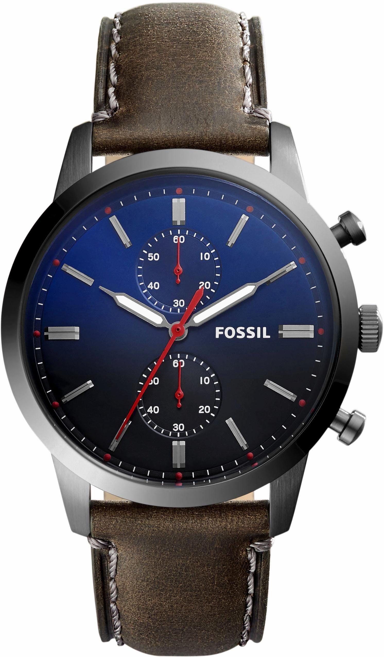 Fossil Chronograph »44MM TOWNSMAN, FS5378«
